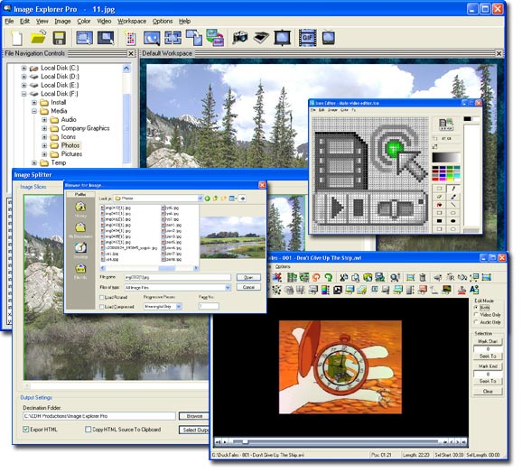 CDH Image Explorer Pro Screenshot