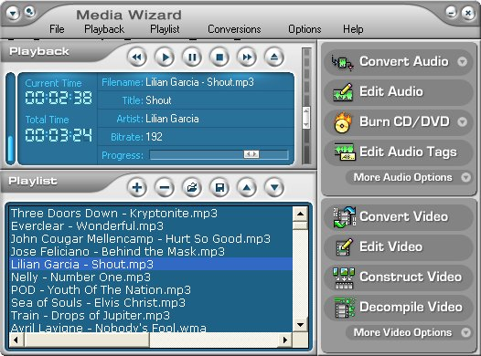 CDH Media Wizard Screenshot